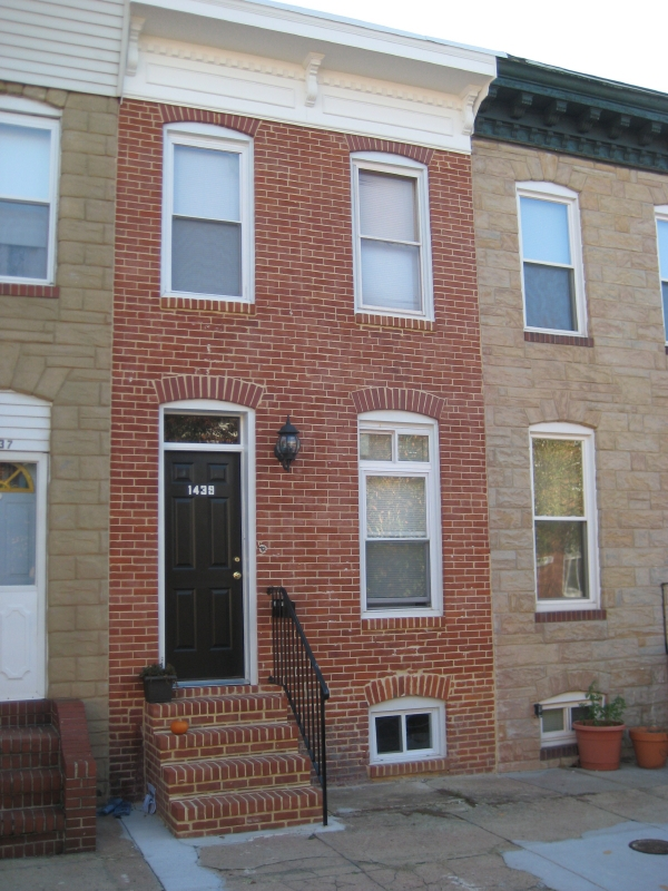 Formstone Removal And Brick Re Pointing For Baltimore Rowhomes