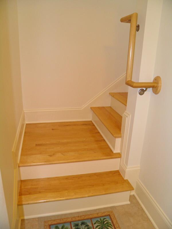 Custom Maple Stair