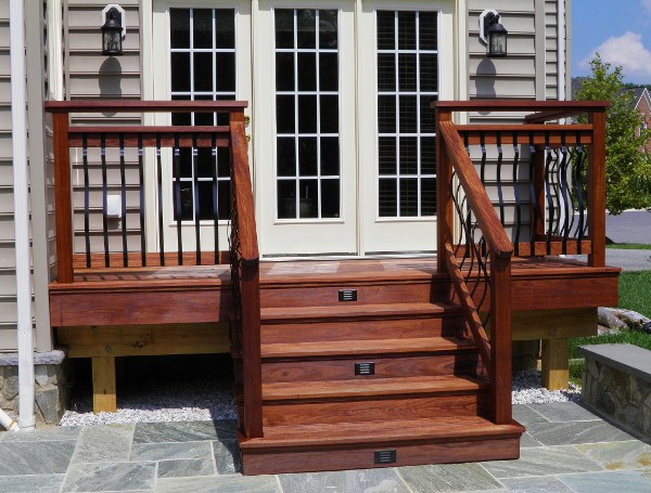 Secondary Deck And Stair