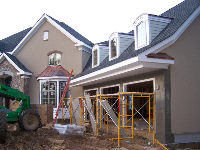 Exterior trim and siding contractor in baltimore maryland for Barrel dormer